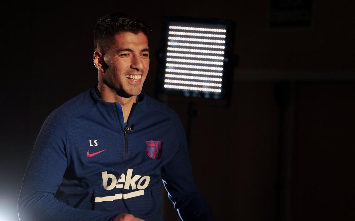 """Luis Suárez: """"Nos espera un mes de los que nos gustan"""