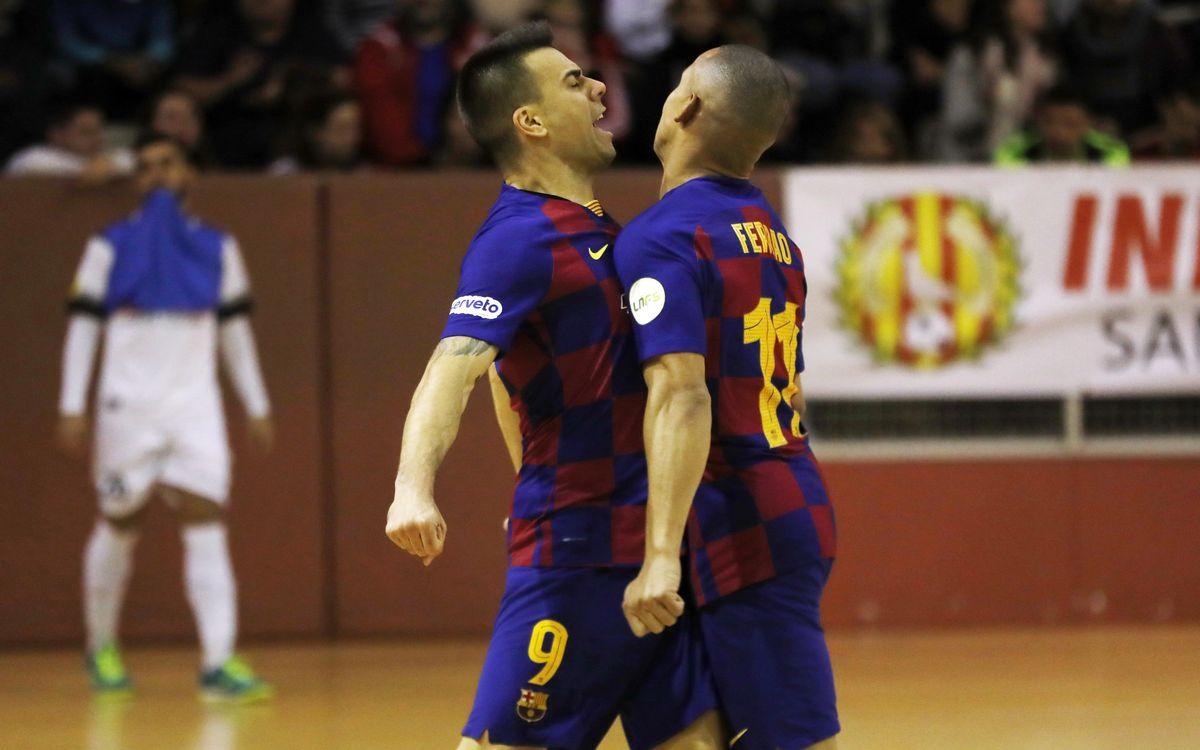 Industrias 3-6 Barça: Derby win