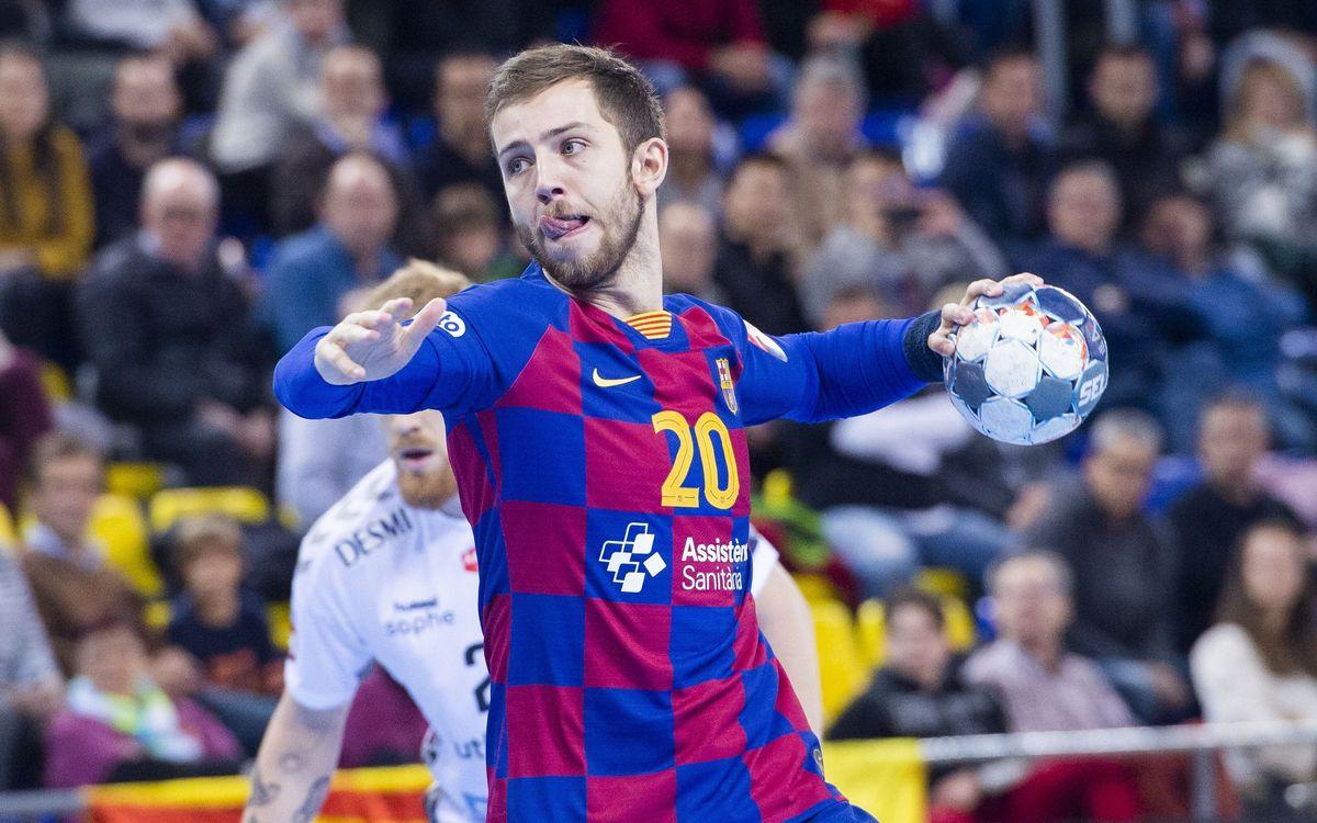 Barça - Aalborg Handbold: Goleada europea del líder (44-35)