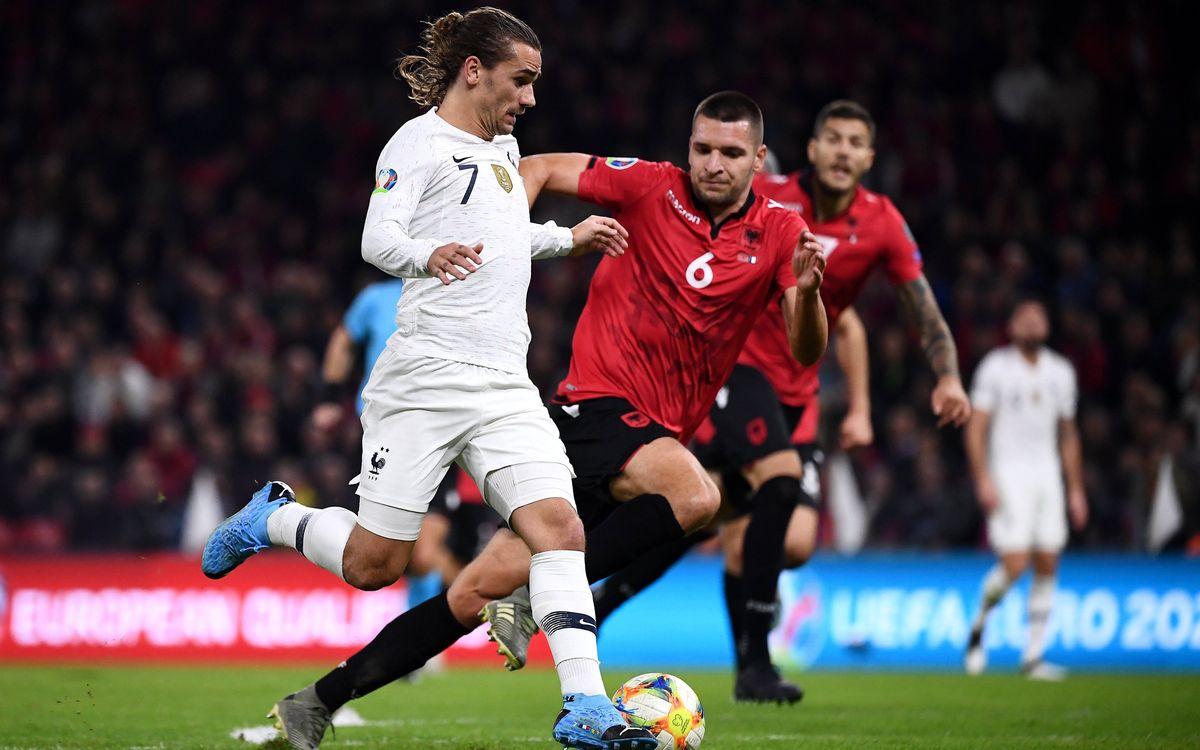 Griezmann, gol i assistència contra Albània