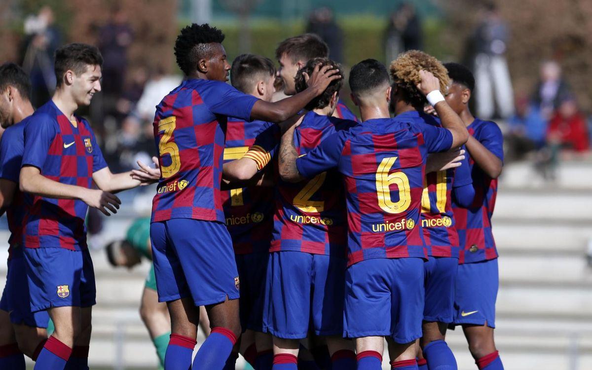 Juvenil A - Stadium Casablanca: Golejada per retrobar-se amb la victòria (8-0)