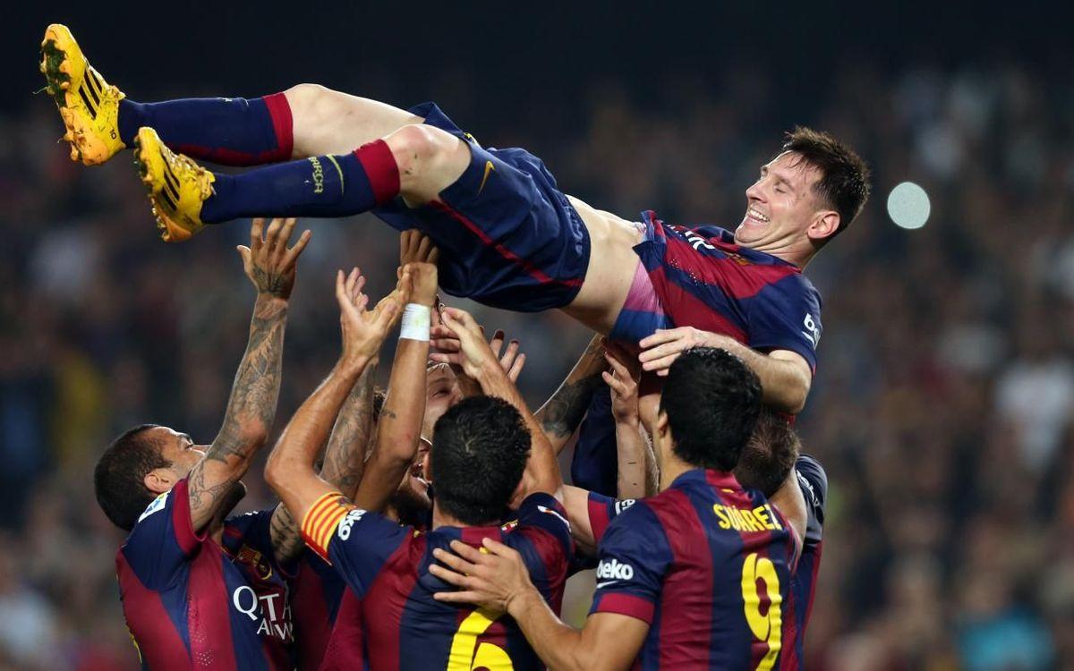 Il y a 5 ans, Messi battait le record de Zarra