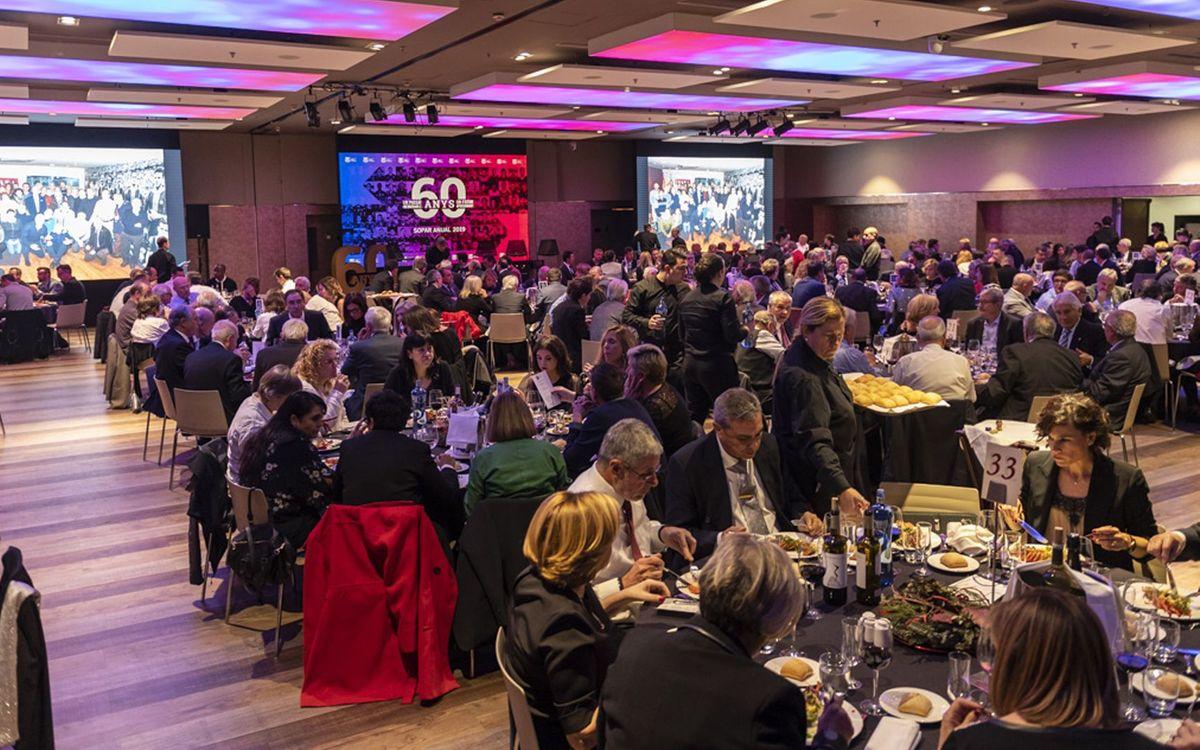 La cena del 60º aniversario de la Agrupación fue multitudinaria. ABJ / Sergio Ruiz