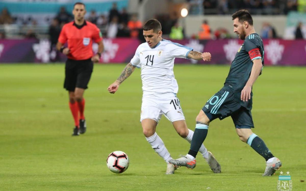 Messi ha buscado el gol hasta conseguirlo - AFA