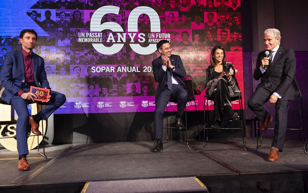 El to distès va ser predominant durant la festa, presentada per Bruno Oro. ABJ / Sergio Ruiz