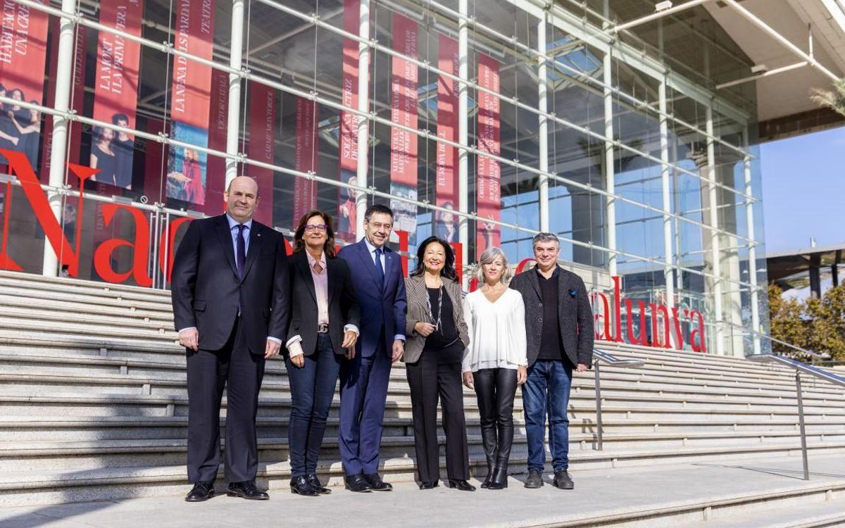 Acuerdo con el TNC para el fomento de la cultura teatral en la Masía