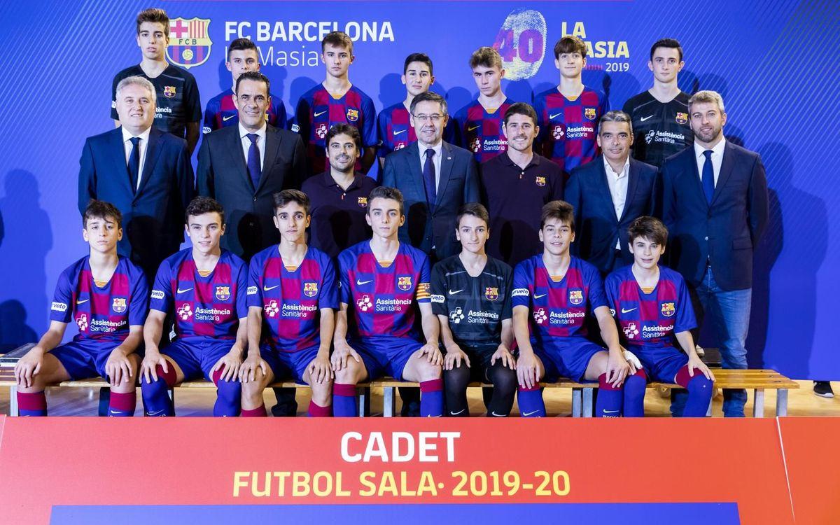 Plantilla Cadete fútbol sala 2019-20