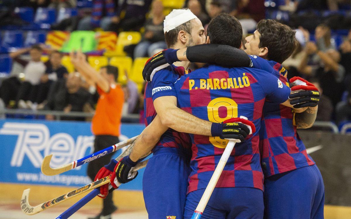 Barça - Calafell Tot l'Any: Empenta ofensiva i nou triomf (6-3)