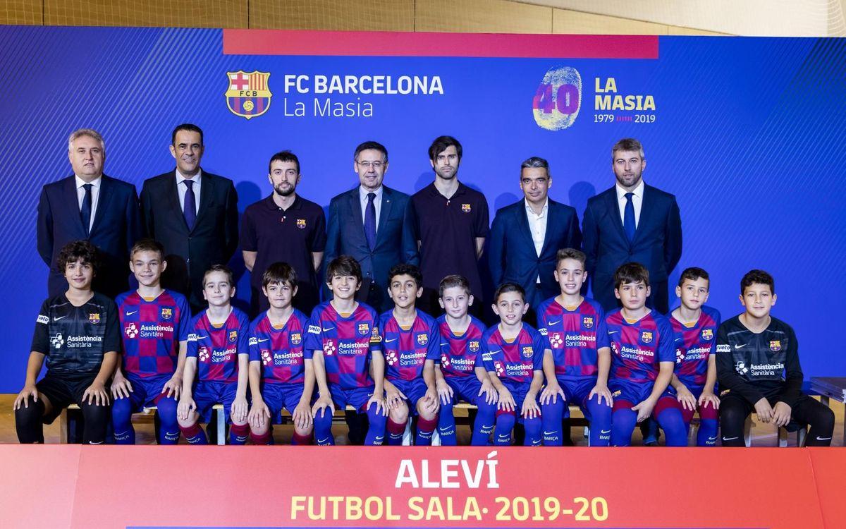 Alevín fútbol sala 2019-20