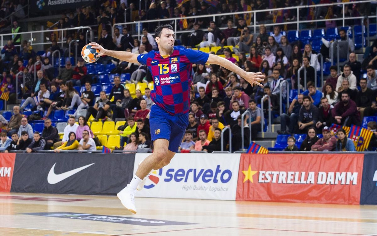 Barça 45-21 Cantabria: Victory for the children