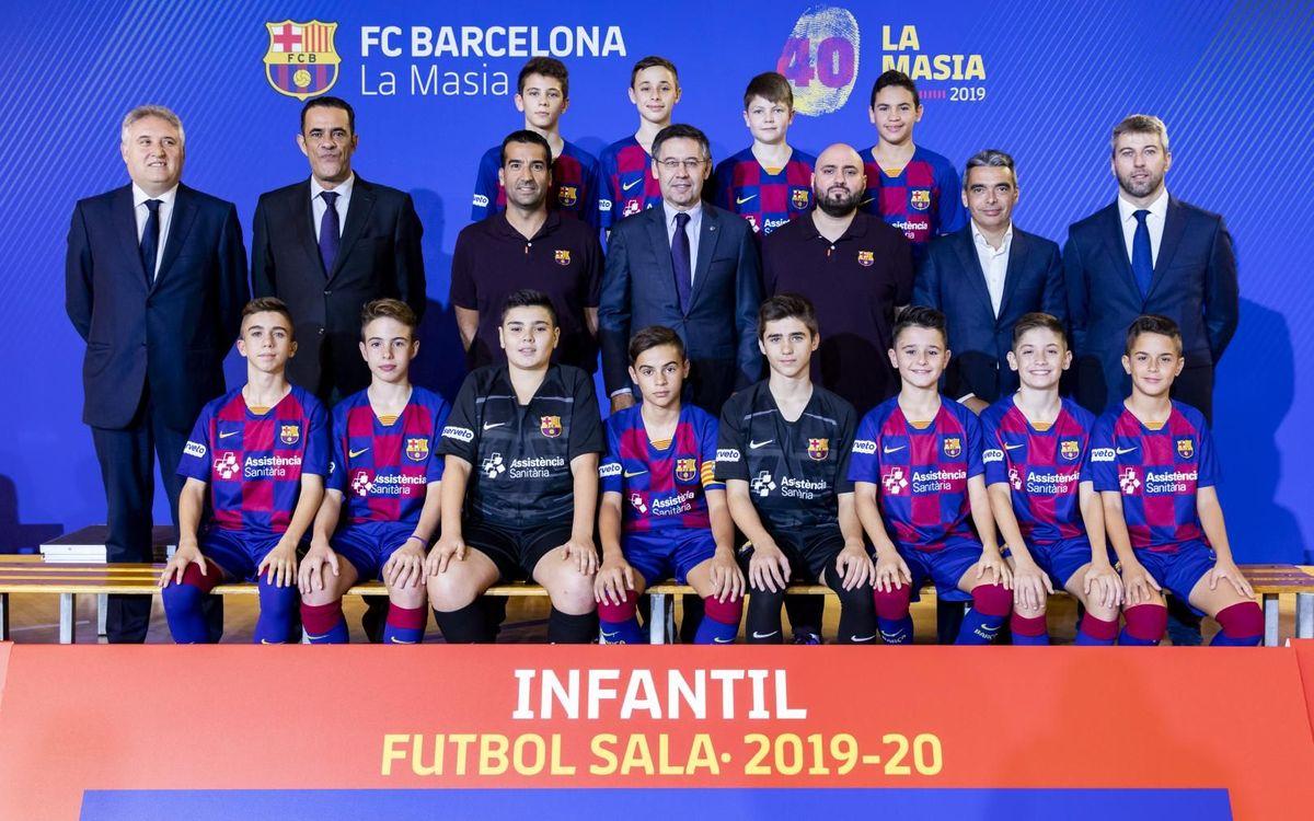 Infantil futbol sala 2019-20