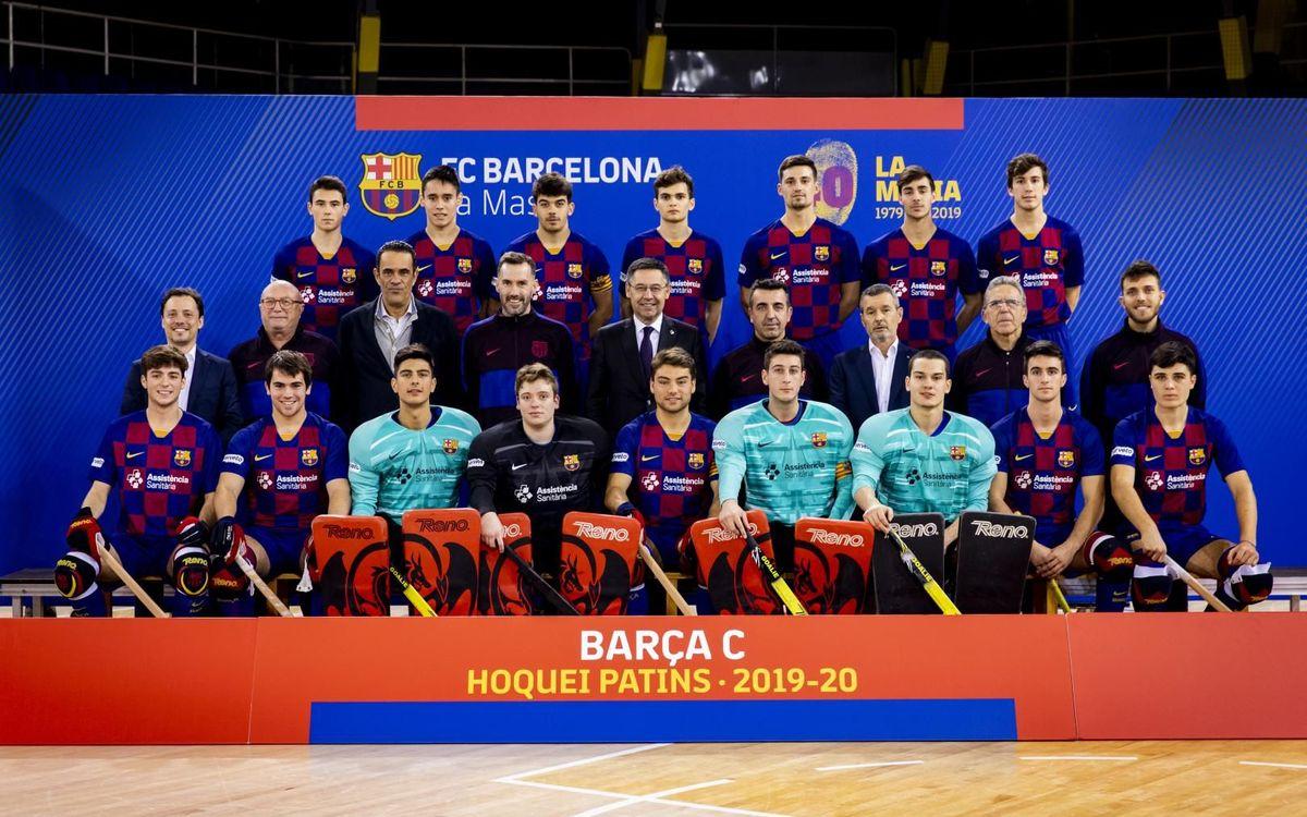 Plantilla Barça C hoquei patins 2019-20