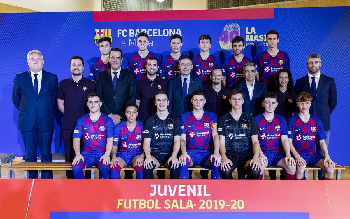 Juvenil fútbol sala 2019-20