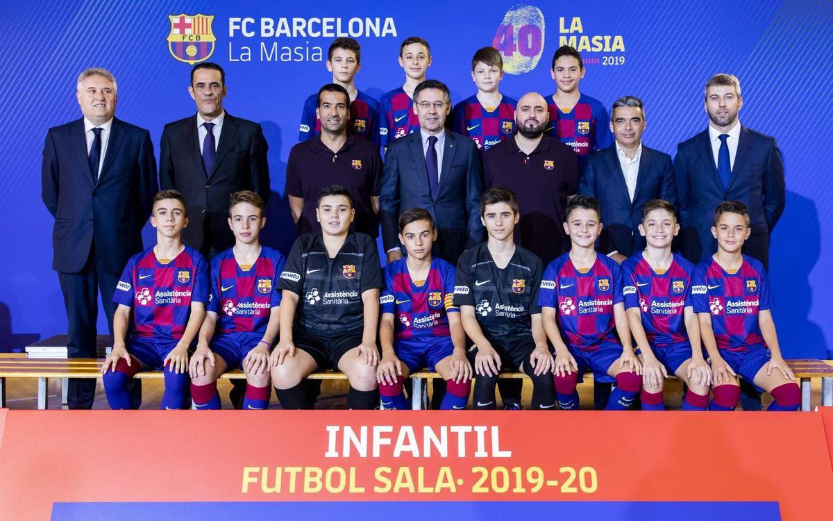 Infantil fútbol sala 2019-20
