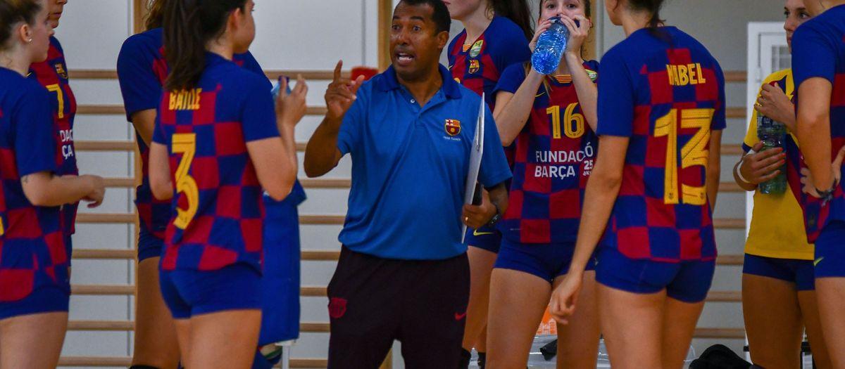 Gylton Brandao Da Matta no seguirà com a tècnic del Barça Voleibol Femení