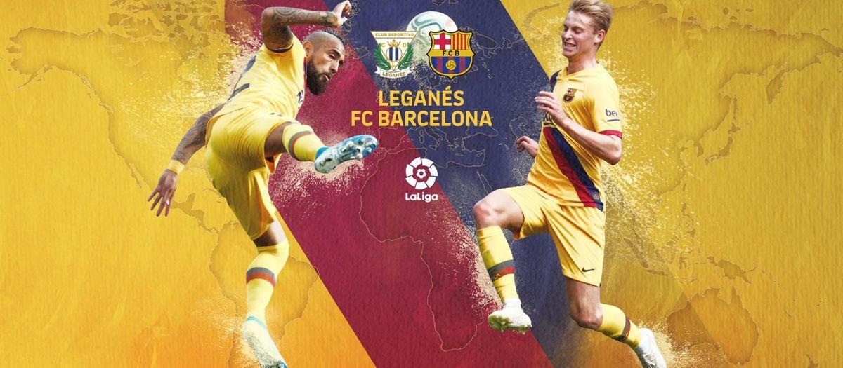 Quan i on veure el Leganés-Barça