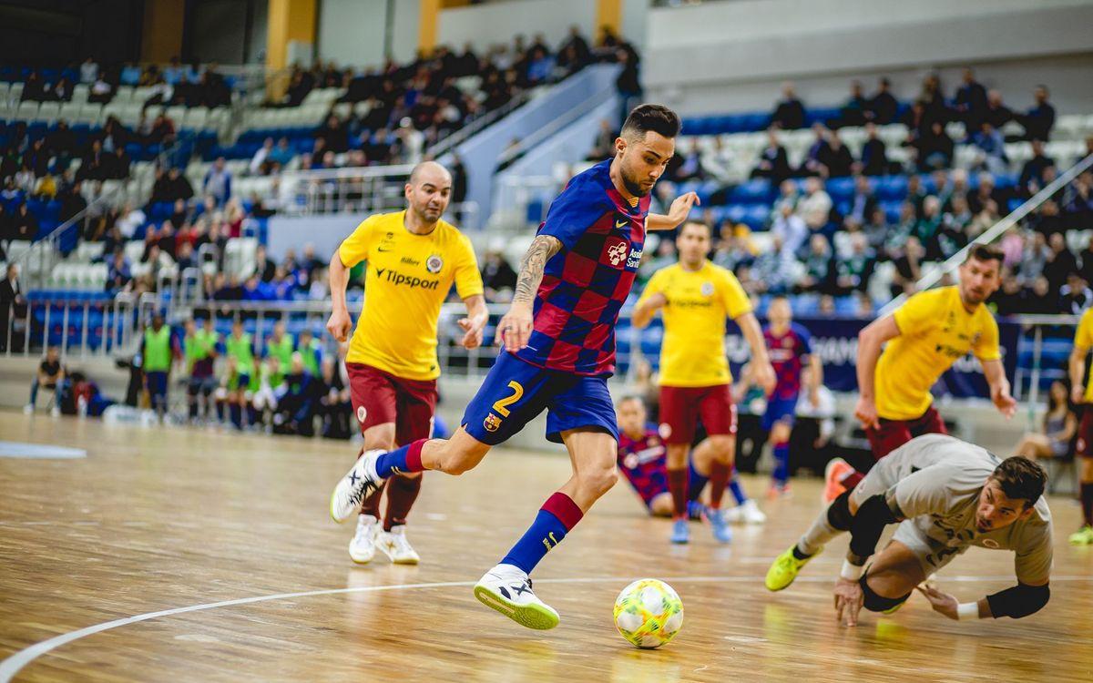 Barça - Sparta de Praga: Buen triunfo en el debut en la Elite Round (2-1)