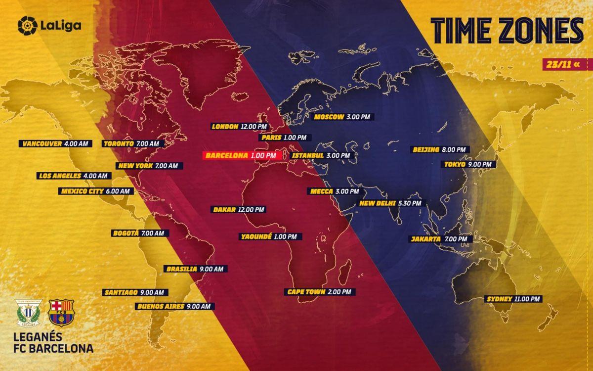 Où et quand voir Leganés-Barça