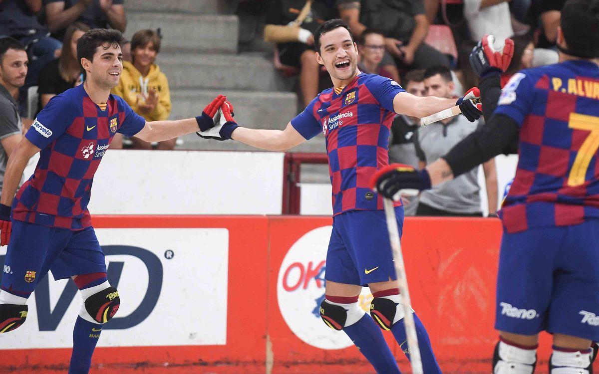 Lleida Llista – Barça : Prueba exigente a domicilio para seguir dando pasos en la OK Liga