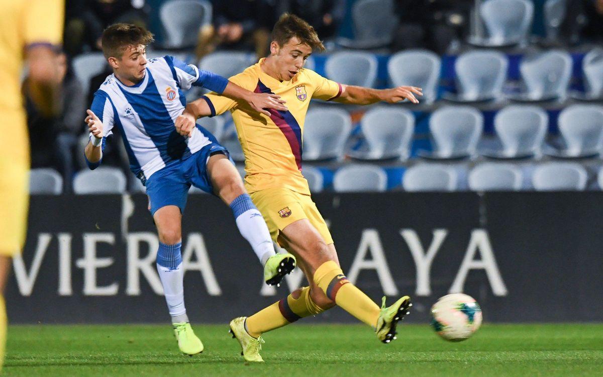Espanyol - Juvenil A: Primera derrota en Liga (4-1)
