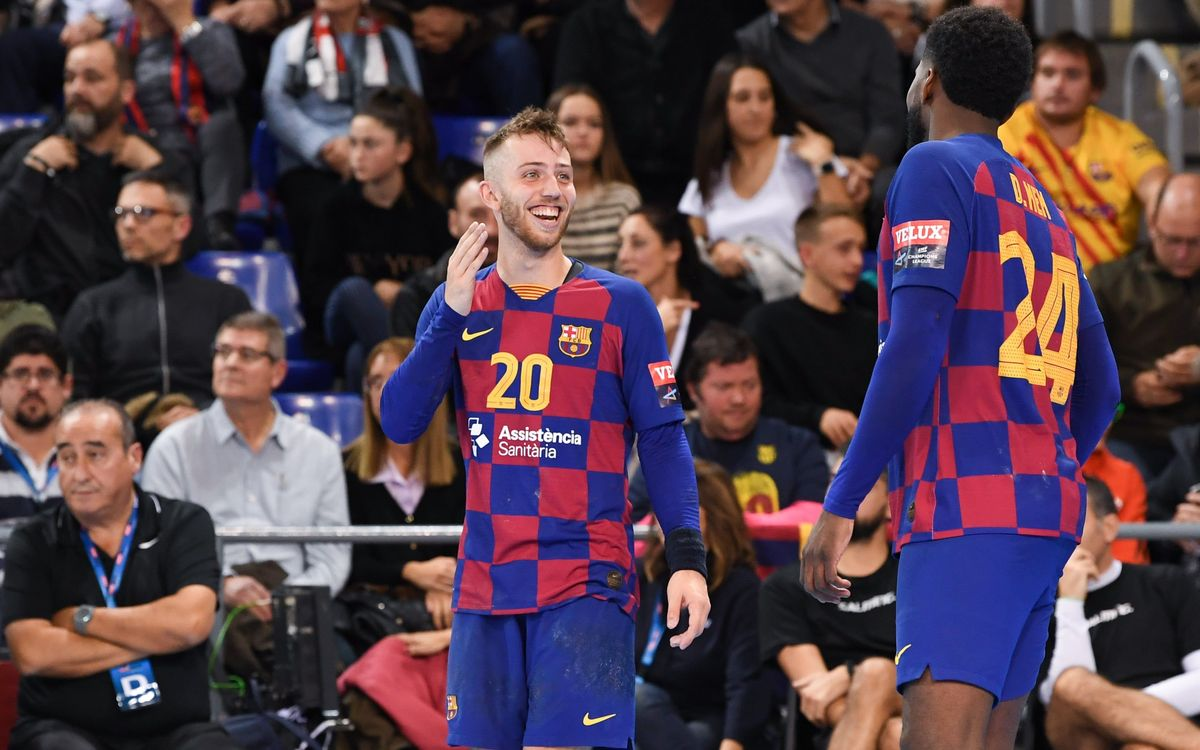 Barça 31–27 SG Flensburg-Handewitt: Win in final European home game of 2019