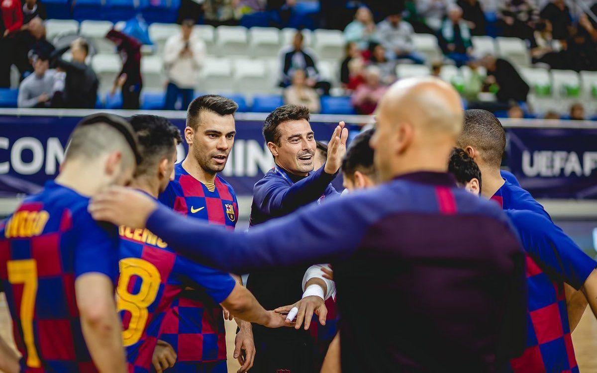 Barça – Minsk: Golejada treballada per tancar l'Elite Round (6-1)