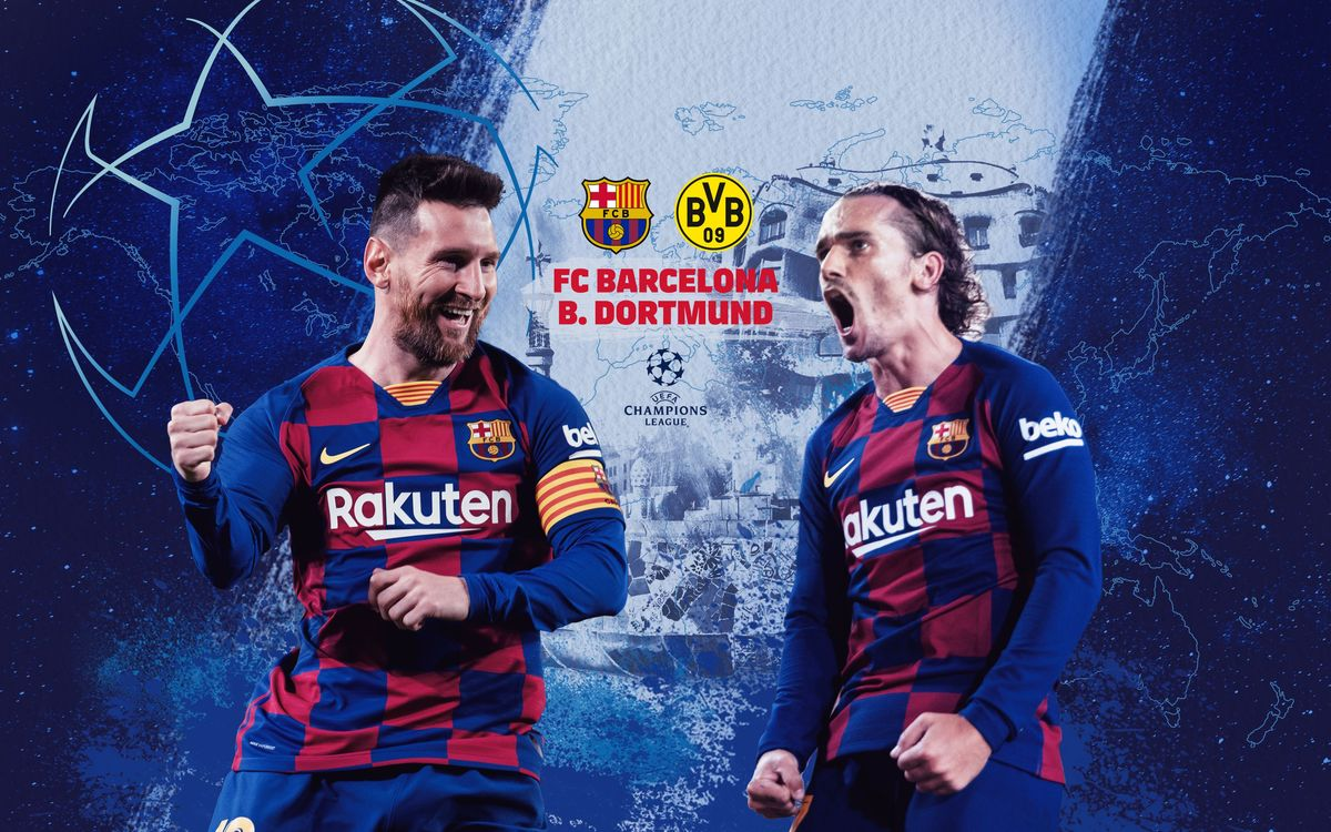 When and where to watch Barça-Borussia Dortmund