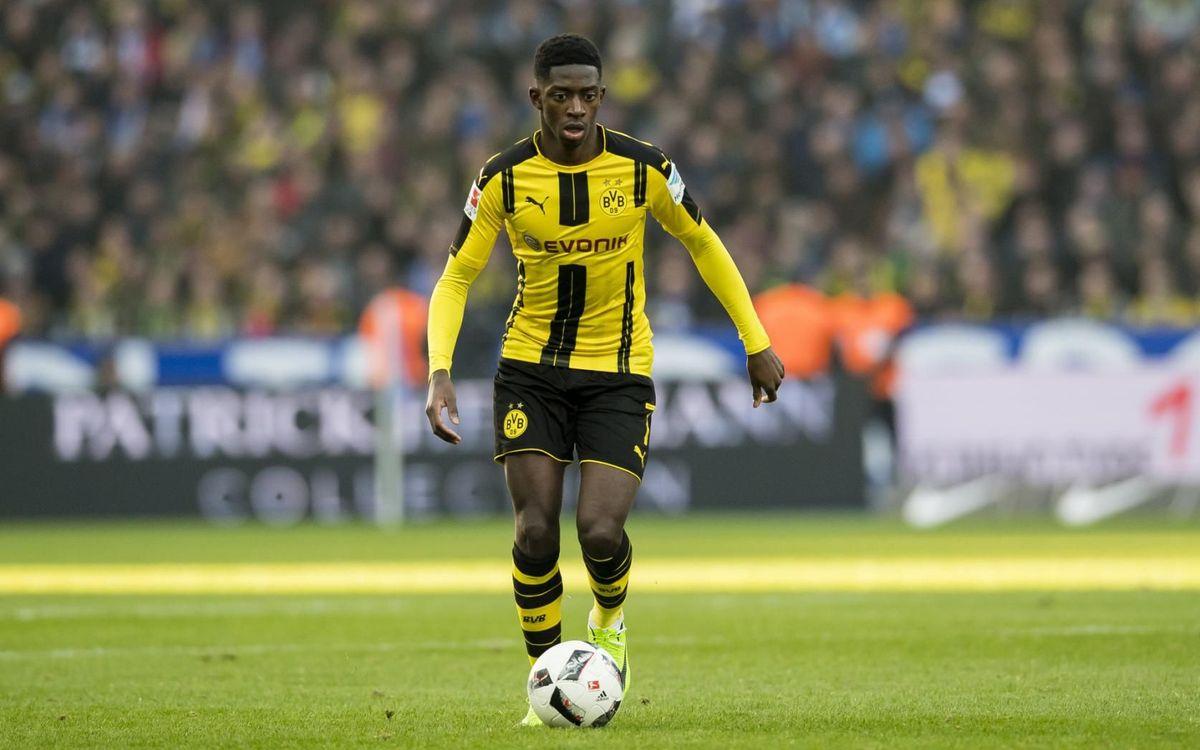 Dembélé se verá las caras contra su ex equipo - UEFA