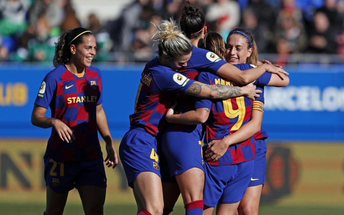 Valencia - Barça: Lección ofensiva para reforzar el liderato (0-4)