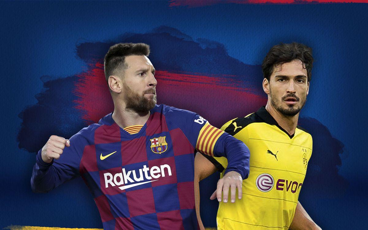 Messi v Hummels