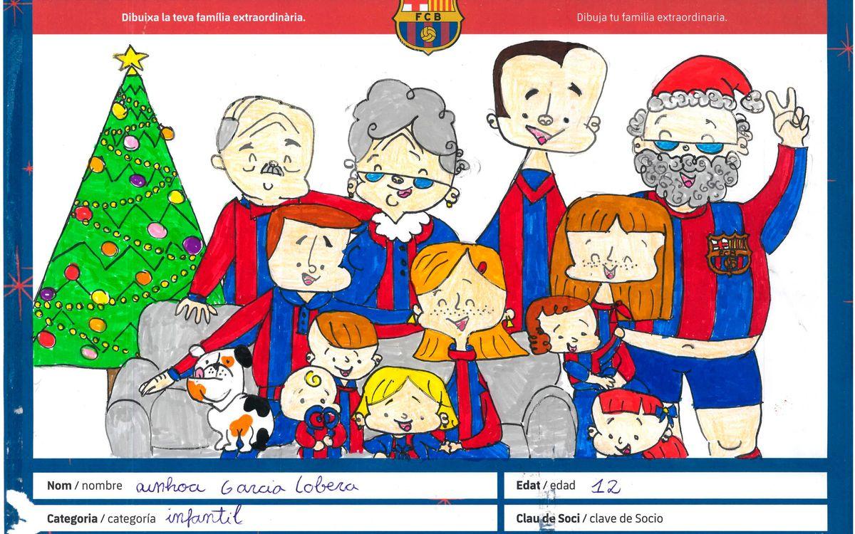 La XV Mostra de Nadales Blaugrana ja té dibuix guanyador