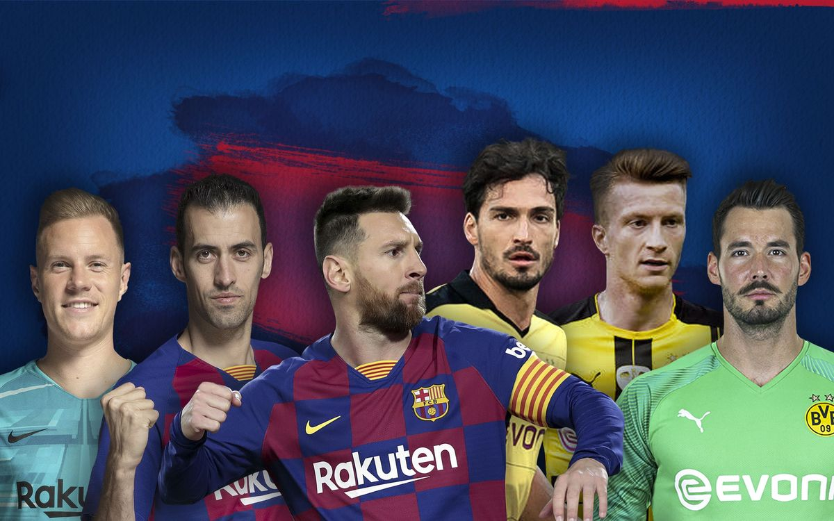Barça v Borussia Dortmund: Three individual battles to look out for
