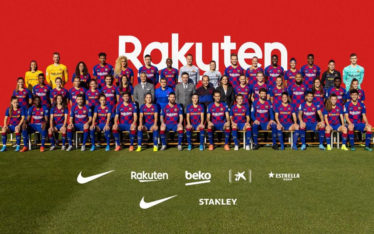 Foto conjunta de la temporada 2019/2020.