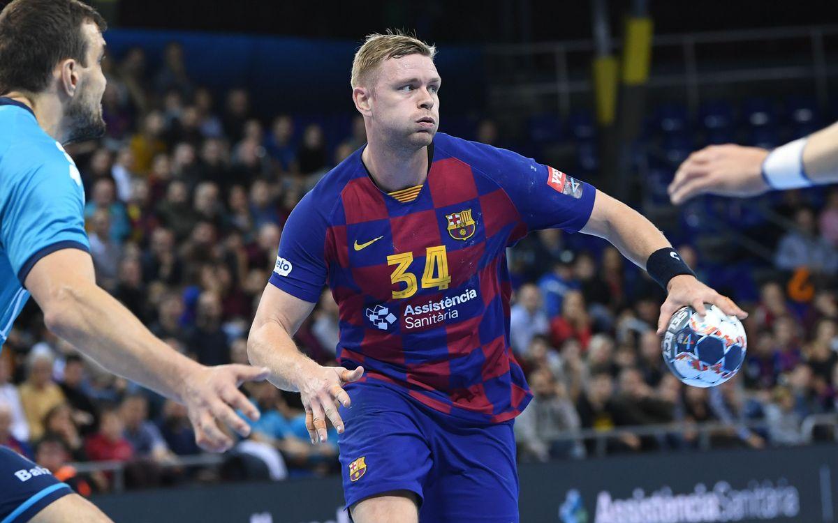 Víctor Tomàs rep l'alta mèdica; Pálmarsson és baixa