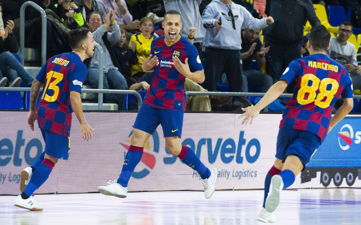 Barça 6-3 Osasuna Magna: Effort and sweat to win