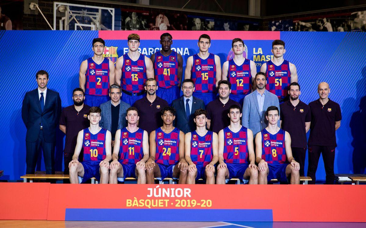 El camino a Colonia del equipo Junior del Barça de baloncesto