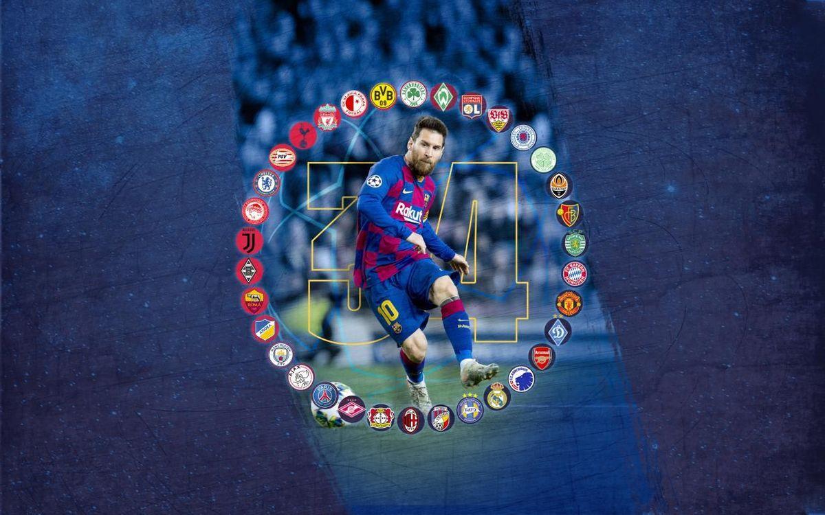 Messi se hace con el récord más diferente