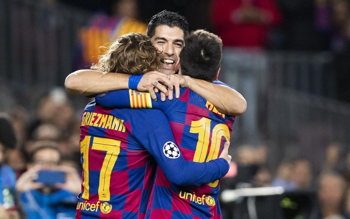 FC Barcelona - Borussia Dortmund: Willkommen als vuitens de final (3-1)