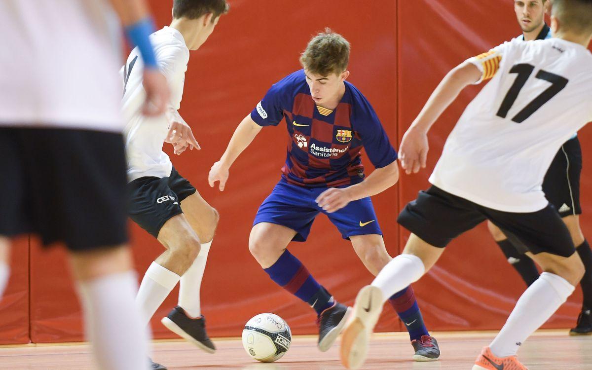 Fútbol sala formativo: Mantienen los lideratos