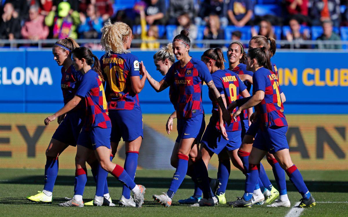 Valencia CF - Barça Femenino (previa): Prueba de fuego para el líder