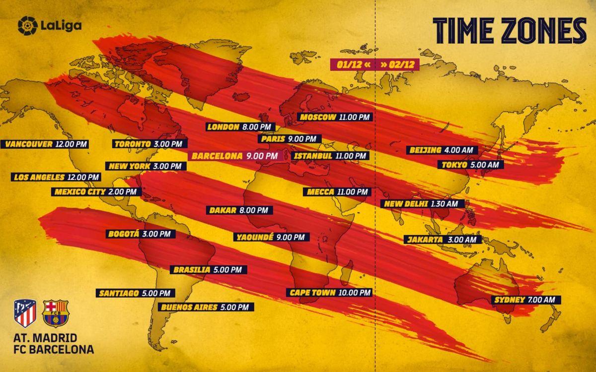 Cuándo y dónde ver el Atlético de Madrid-Barça