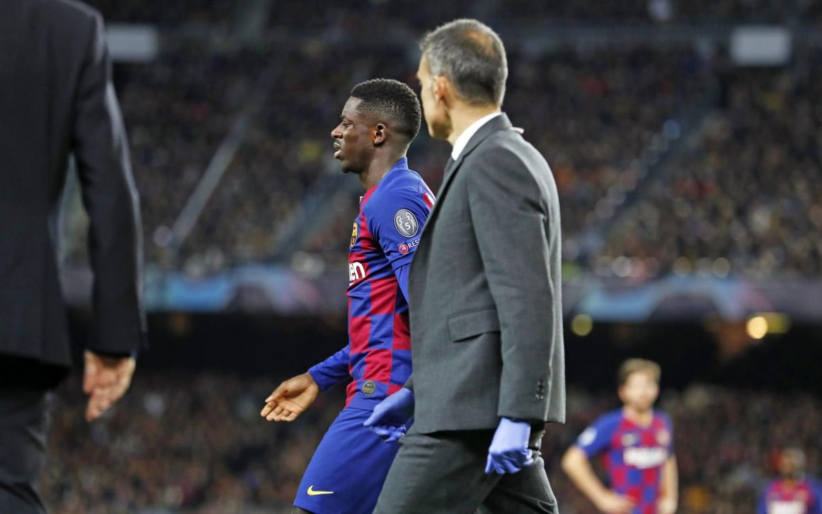 Ousmane Dembélé to start treatment on Sunday