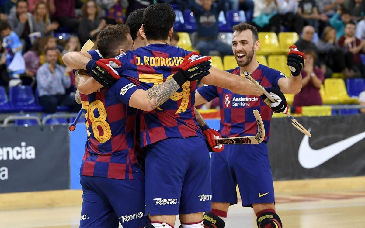 Barça – Igualada Rigat: Superen un rival directe (8-4)