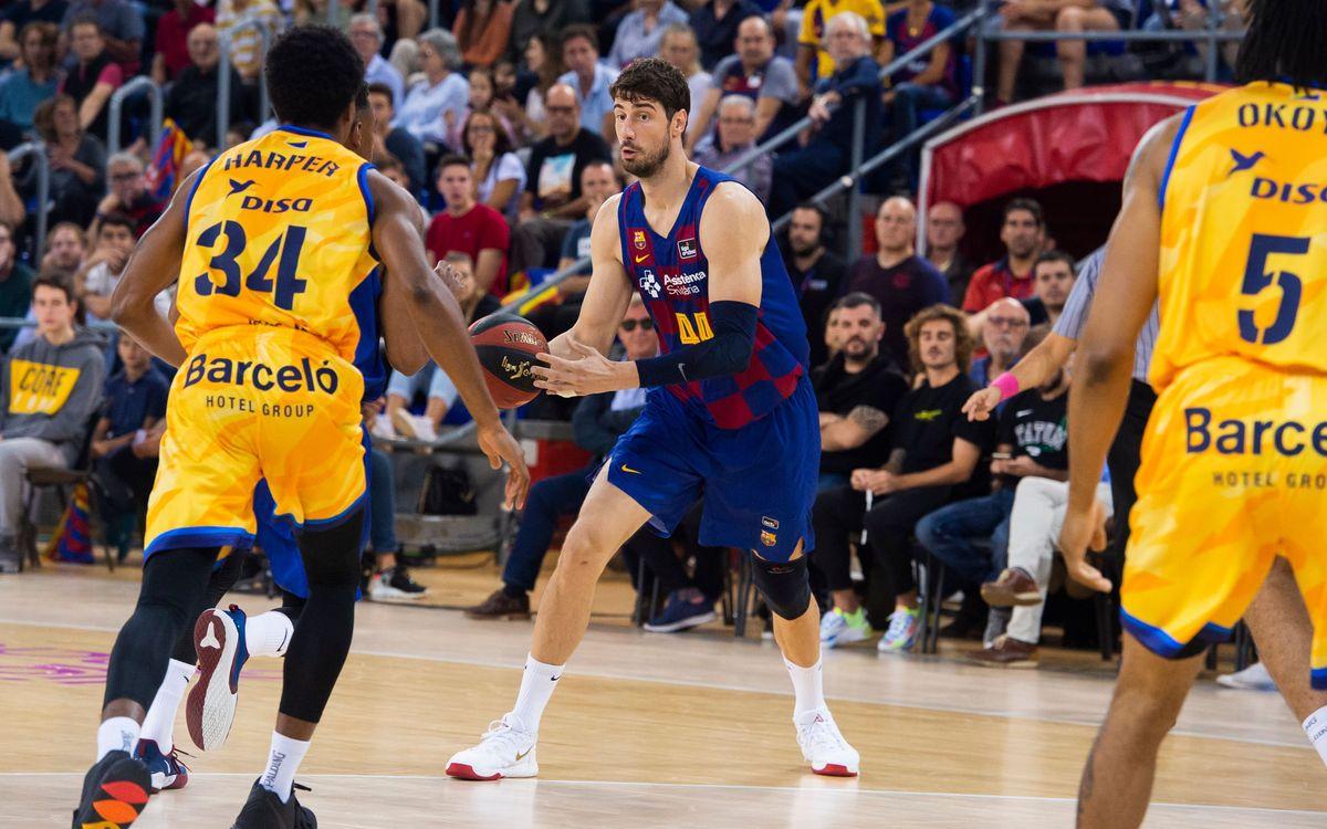 Ante Tomic disputarà el partit 400 a l'ACB