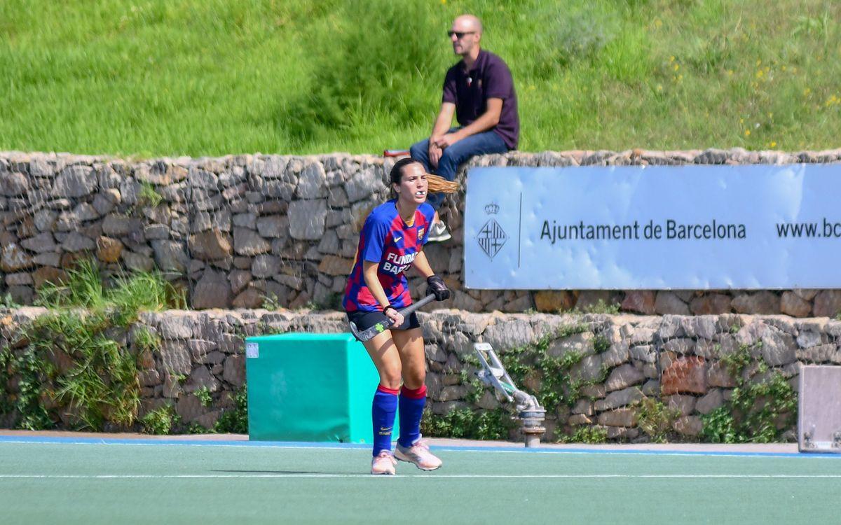 El Barça femenino saca punto de Pozuelo y confirma la mejora