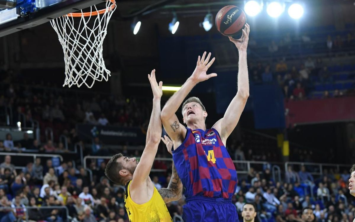 Barça 103–71 Iberostar Tenerife: Festival of points for much needed win