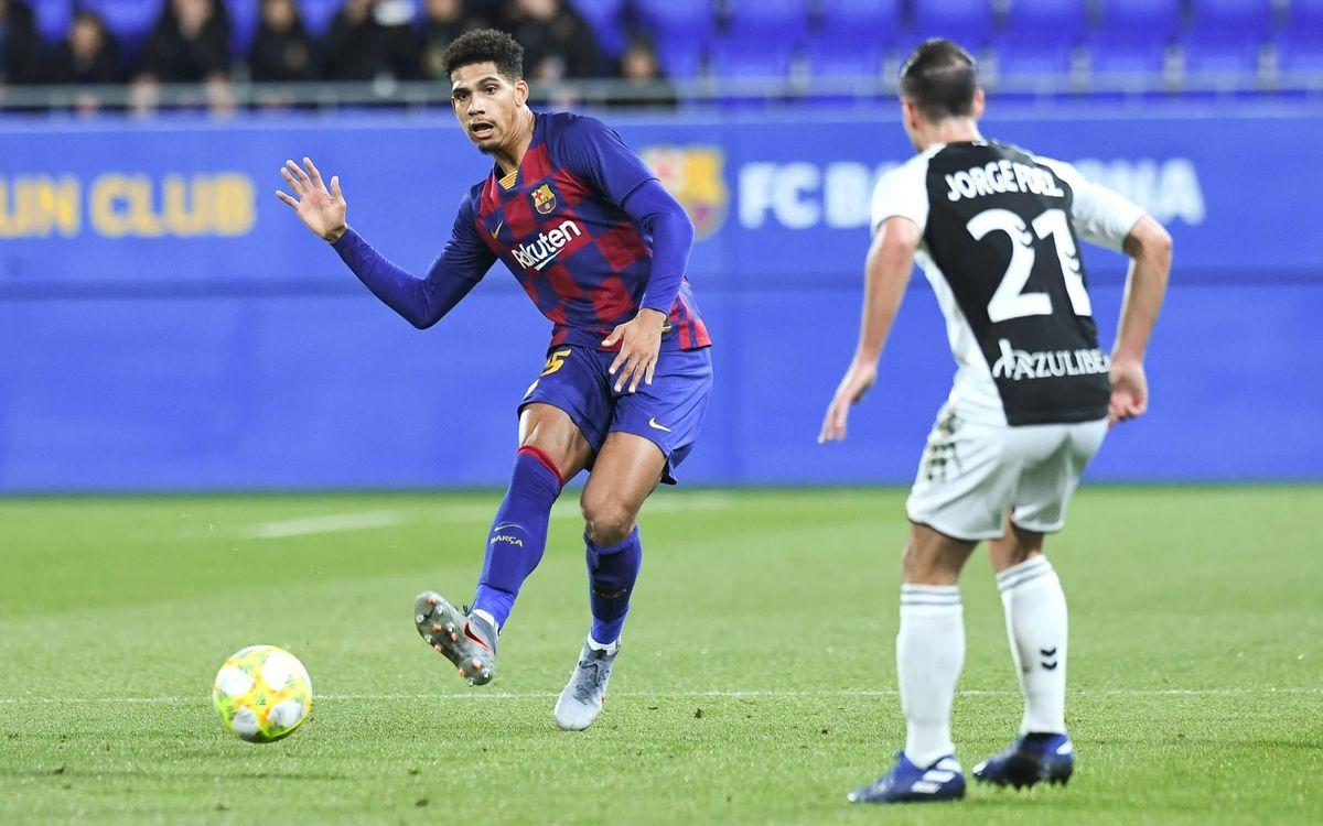 Barça B 2-1 Castellón: Late comeback