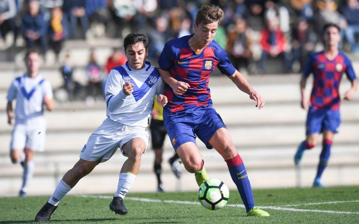 Juvenil A - Europa: Vuelven a ganar (2-0)