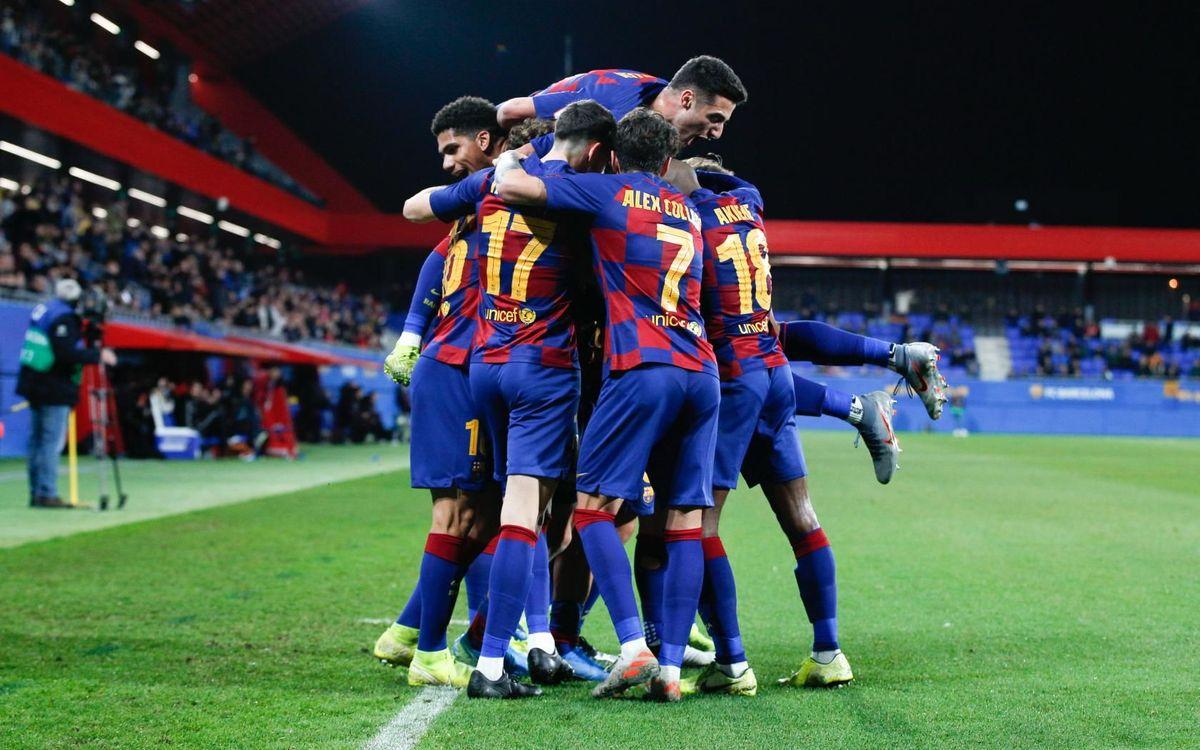 Barça B – Castelló: Remuntada de caràcter i prestigi (2-1)