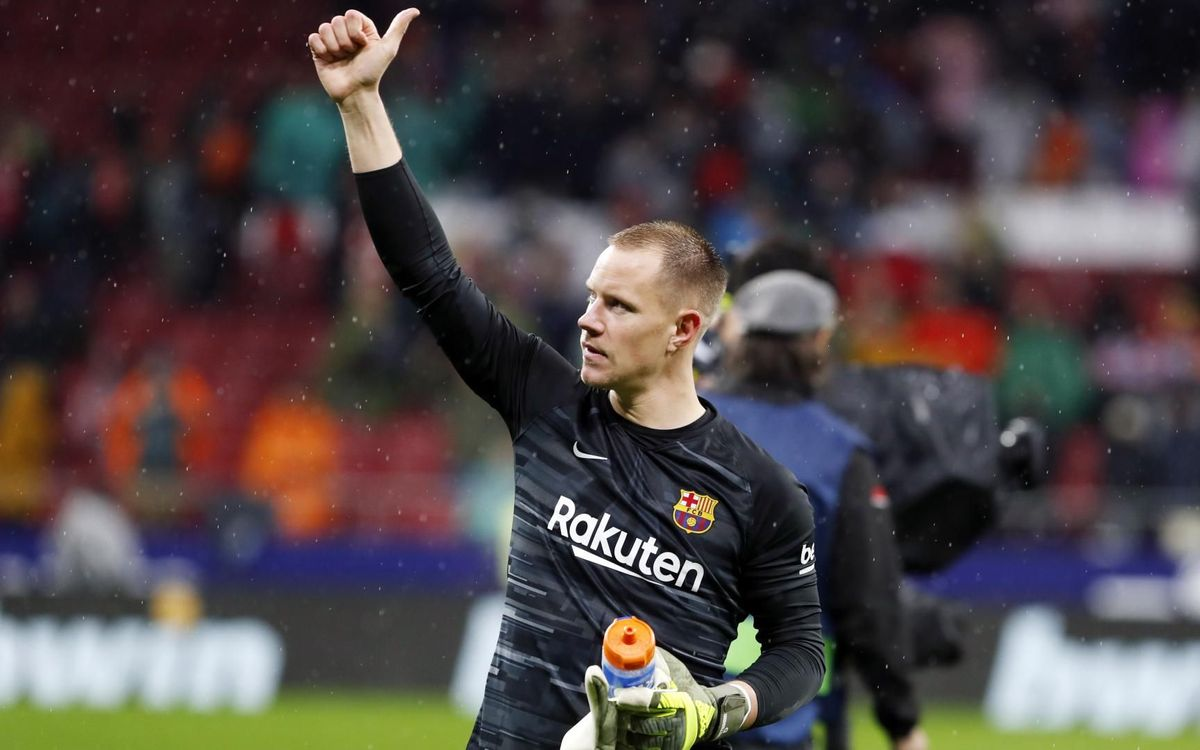 Ter Stegen: 'I'm very happy in Barcelona'